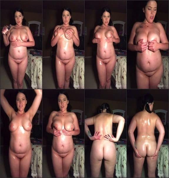Chippy Lipton – fully naked in oil 2017/10/01