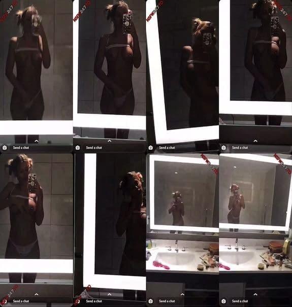 Riley Steele mirror view tease snapchat premium 2019/07/05