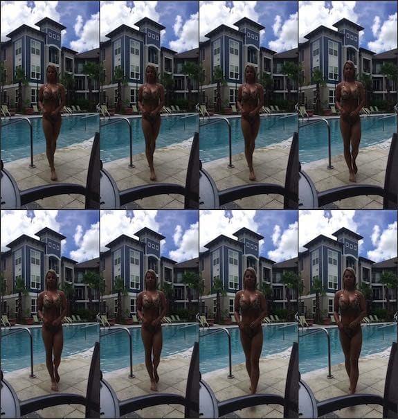 Crystina Rossi - Pool