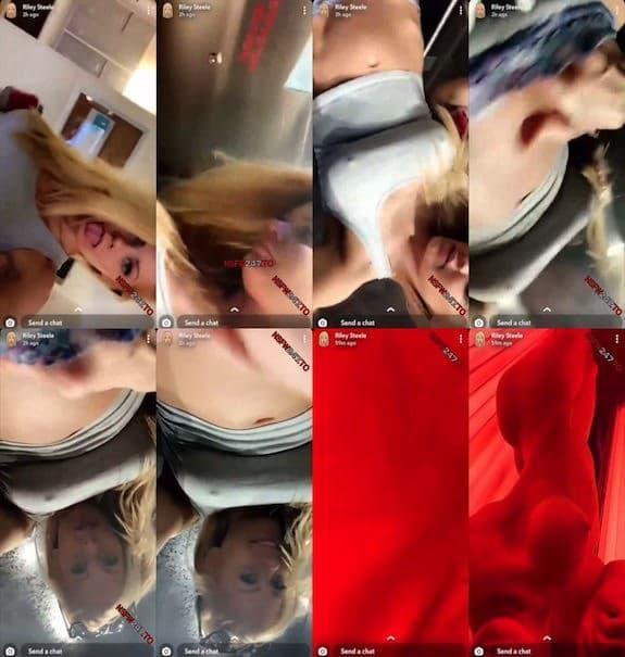 Riley Steele tease snapchat premium 2019/07/18