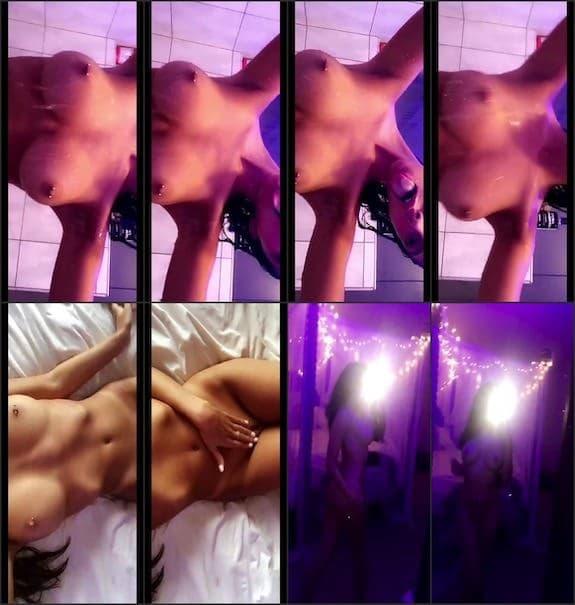 Lillie MFC naked shower snaps snapchat premium 12/22