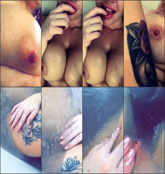 Katie Gee bath pussy fingering snapchat premium 10/20