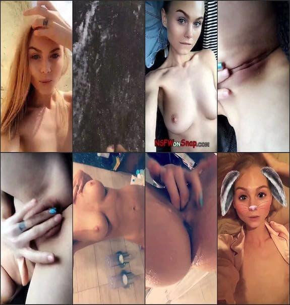 Nancy Ace naked snaps snapchat premium 4/03