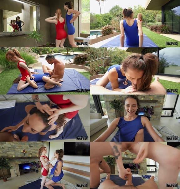 Mofos - Madi Collins & Andi Rose - Pinning Them Down