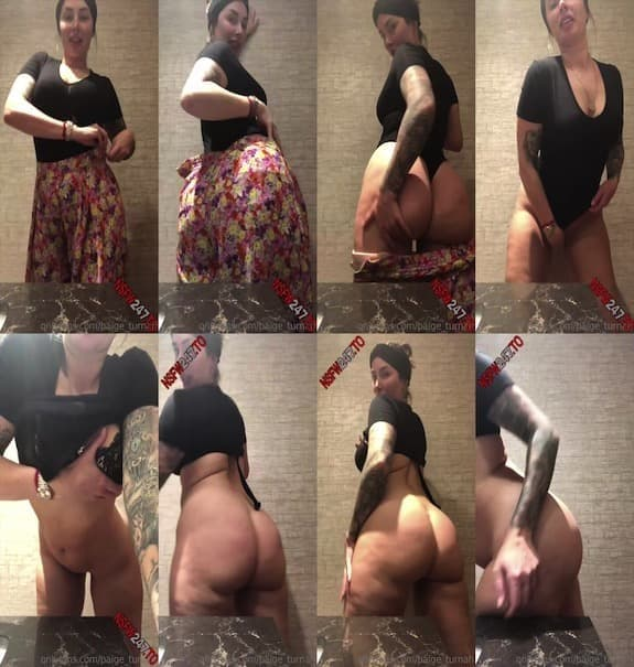 Paige Turnah - Getting so tipsy naughty in the ladies room