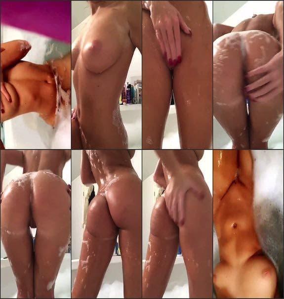 Alexx (Sasha) Wonderr bathtub booty teasing snapchat premium 4/12