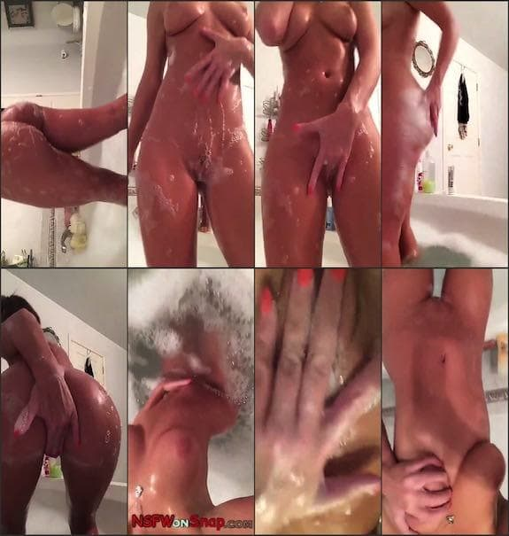 Alexx (Sasha) Wonderr bathtub naked teasing snapchat premium 2018/07/19