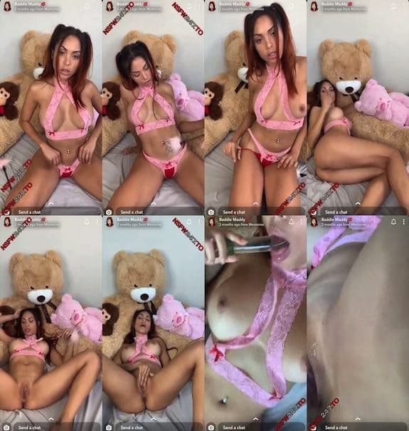 Maddy Belle pussy play snapchat premium 2019/08/22