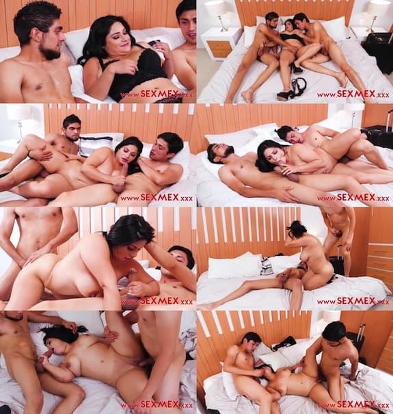 Sex Mex - Mia Sanz - Having fun with her nephews