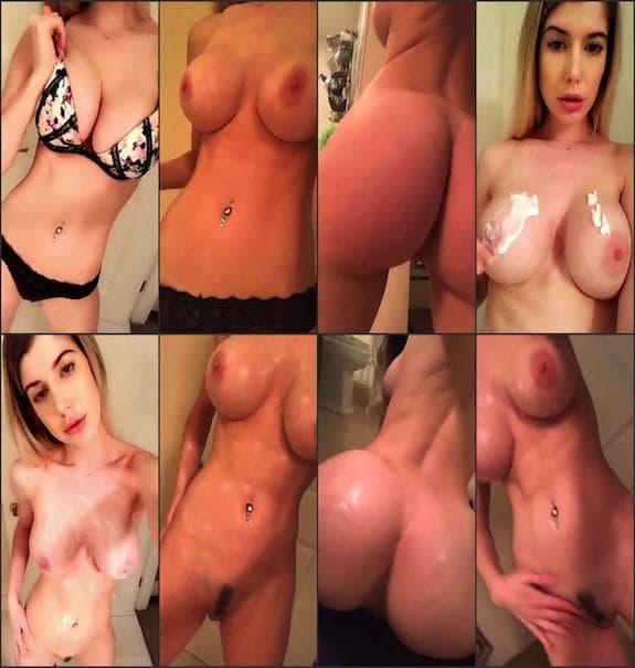 Andie Adams fully naked teasing snapchat premium 2018/01/22