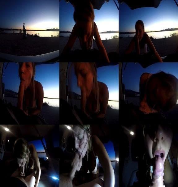 Mya Lane - Sunset Blowjob