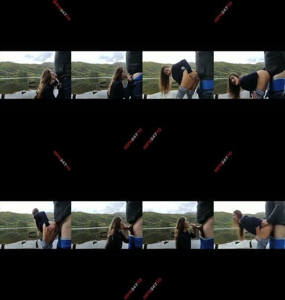 Dani Daniels outdoor sex on the lake snapchat premium 2019/10/09