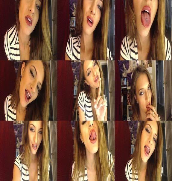 Crystal Knight - Horny For Long Tongue