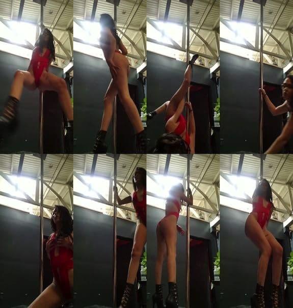 Alex More - Stripper on a pole