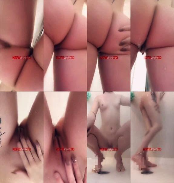 Ashley B shower video snapchat premium 2019/02/12