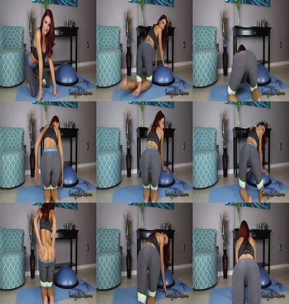 Goddess Christina - Fast Slow Yoga Pants JOI