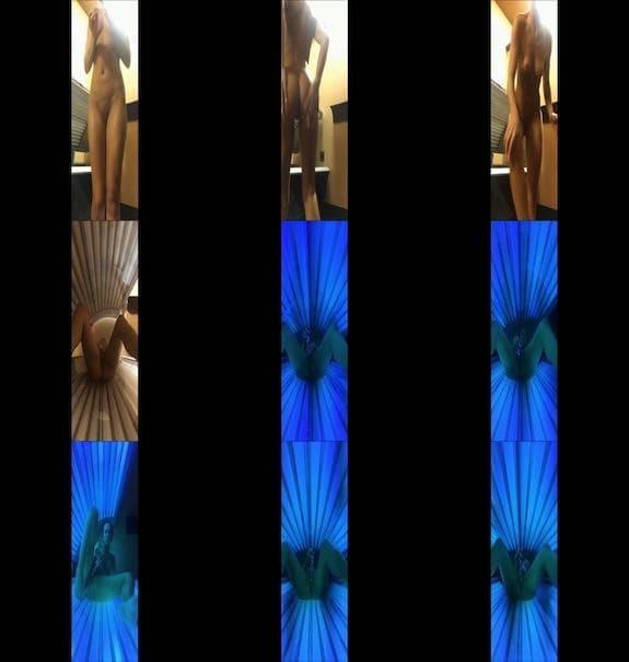 Kandiss Kiss - Tanning Bed Voyeur