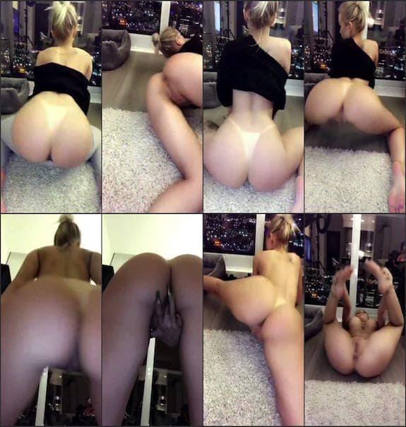 Layna Boo fully naked twerking snapchat premium 2018/12/15