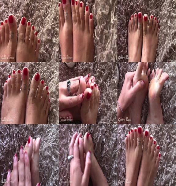 GoddessVenus - Worship My Pretty Red Toes