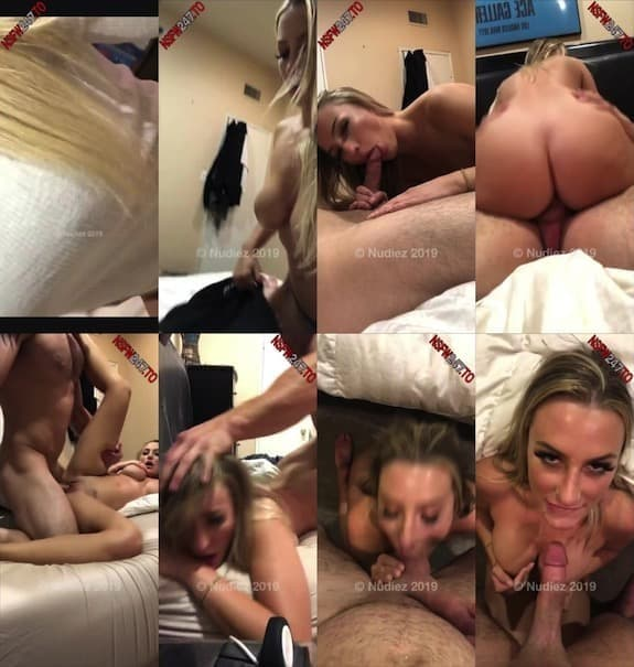 Emily Knight couple sex show on bed snapchat premium 2019/11/18