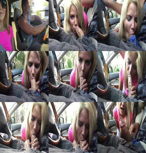 BrittneyBlaze - blowing him while he drives