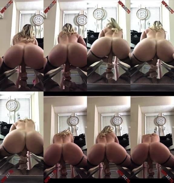 Layla riding dildo booty view snapchat premium 2019/11/15
