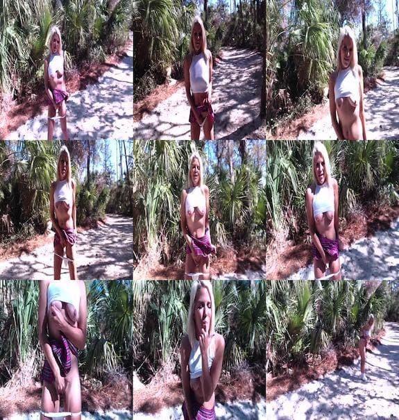 BrittneyBlaze - Cums in the Forrest