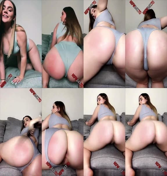 Candy Court booty spanking snapchat premium 2019/11/27