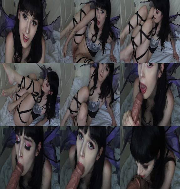 ivyhelix - Fairy Cums and Gets Face Fucked