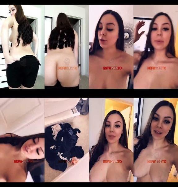 Lara lilac undressing fully naked snapchat premium 2018/10/11