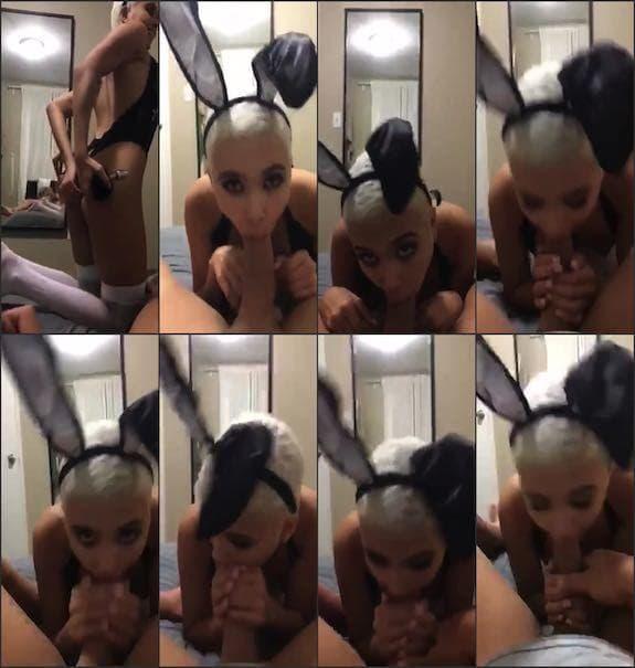 Aaliyah Hadid - bunny POV blowjob