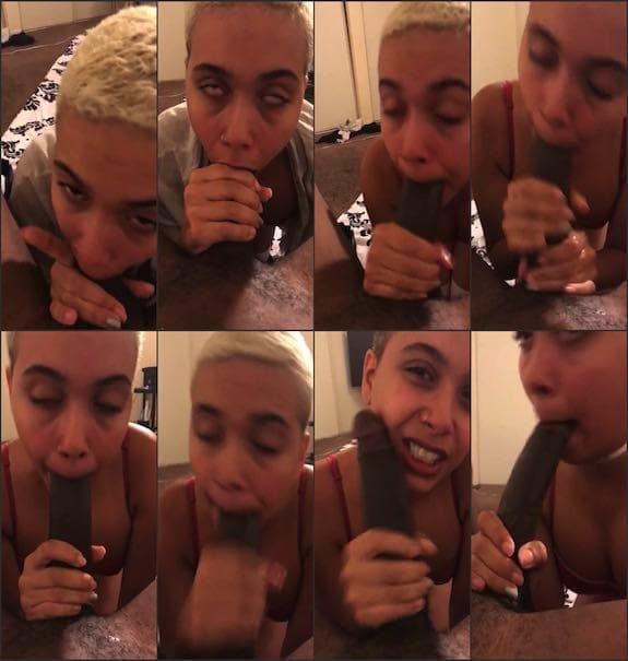 Aaliyah Hadid - POV bbc blowjob