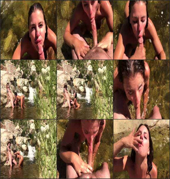 Adriana Chechik - Nature blowjob