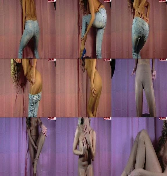 Sybella - Jeans + Strumpfhosen