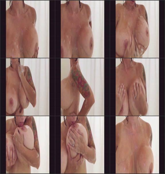 Brittany Elizabeth - shower big boobs teasing