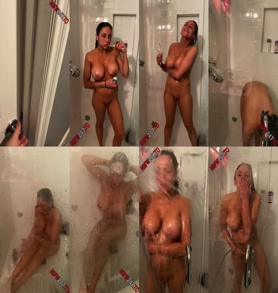 Audrey Bitoni - shower