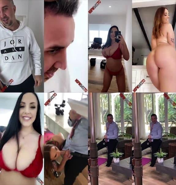 Angela White porn set snaps snapchat premium 2020/01/16