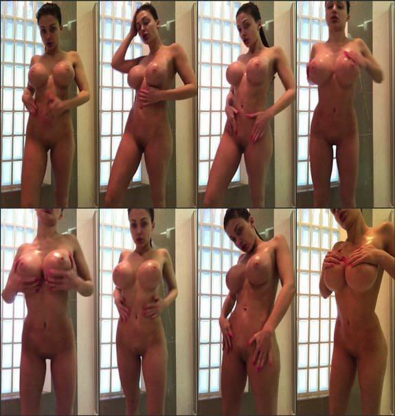 Aletta Ocean – shower video