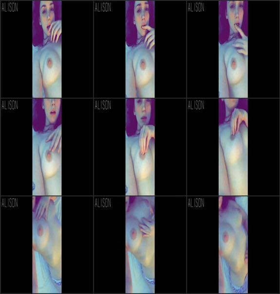 Alisonxo - raw closeup cum explicit intimate 2017/04/01