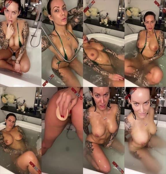 Viking Barbie bathtub anal dildo masturbation snapchat premium 2020/01/18