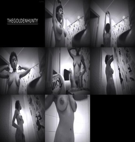 thegoldenhunty - Hidden Camera Shower Voyeur