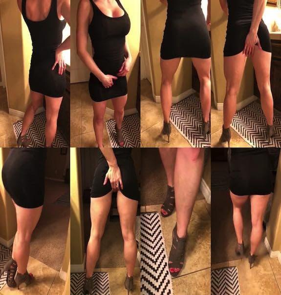 BBCSLUTWIFE4U - sexy black dress