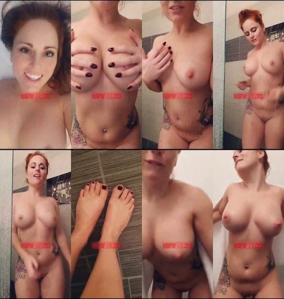Chrissy Leblanc shower tease snapchat premium 2018/11/27