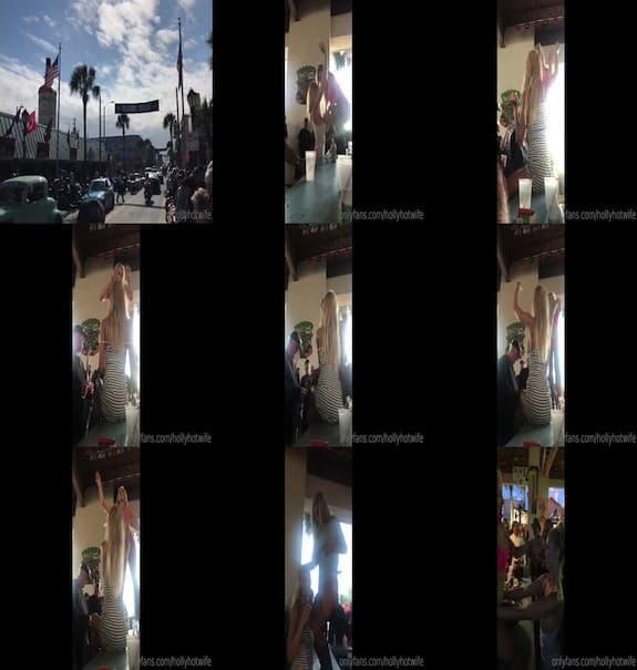 HOLLYHOTWIFE - The FULL Daytona & Froggy&_x27s Video