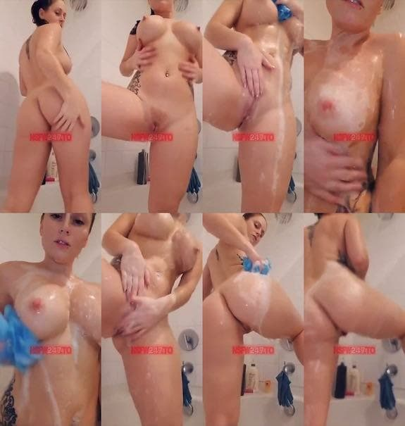 Chrissy Leblanc shower video snapchat premium 2019/03/03