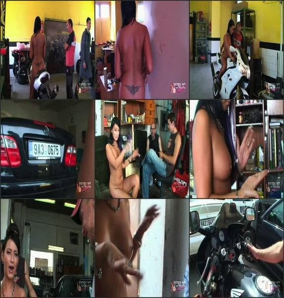 MyPublicDreams - car repair naked
