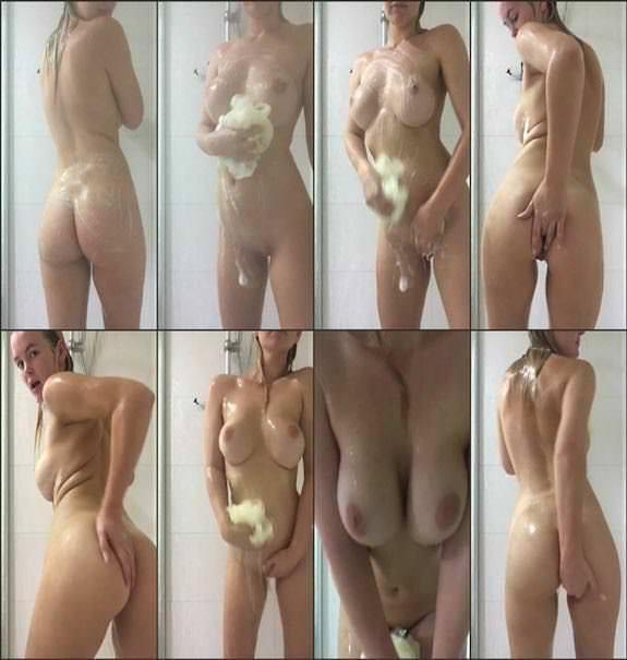 Elle Knox - shower