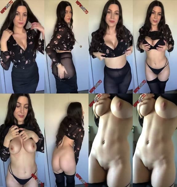 Just Violet striptease show snapchat premium 2020/01/31