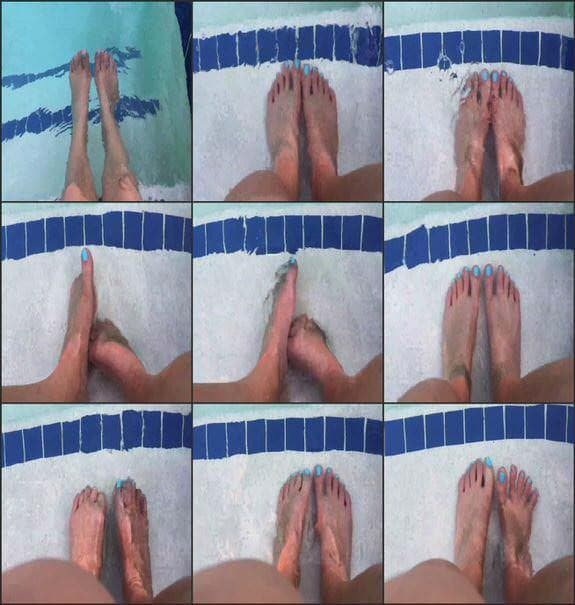 Annah12 - underwater toes 2018/07/21