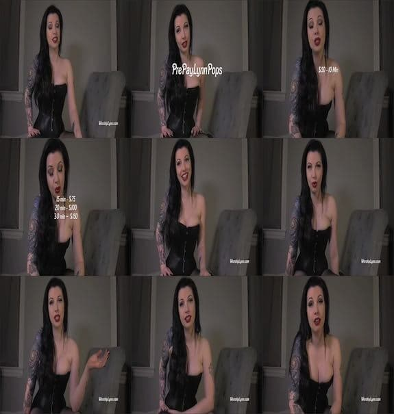 Domina Lynnette - Mistress Lynn Pops Skype ID